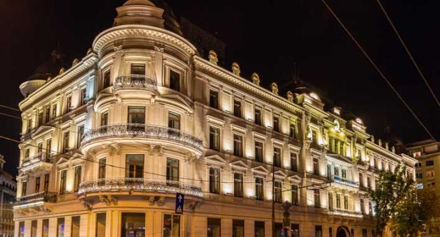 corinthia hotels to open historic grand hotel du boulevard in bucharest romania hospitality on. Black Bedroom Furniture Sets. Home Design Ideas