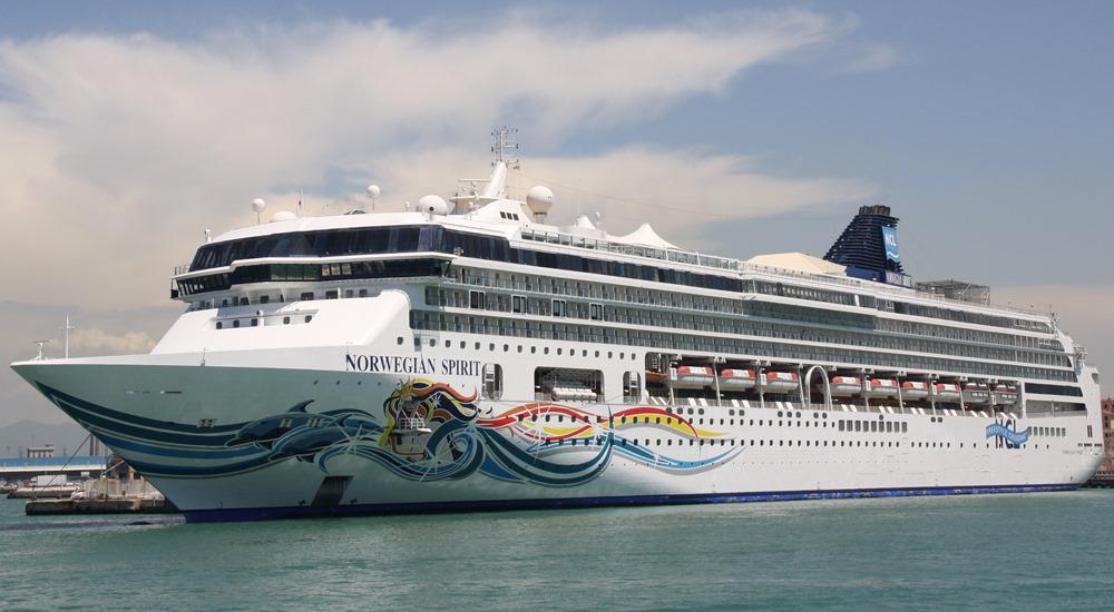 Custom-built for China, Costa Venezia and Norwegian Spirit