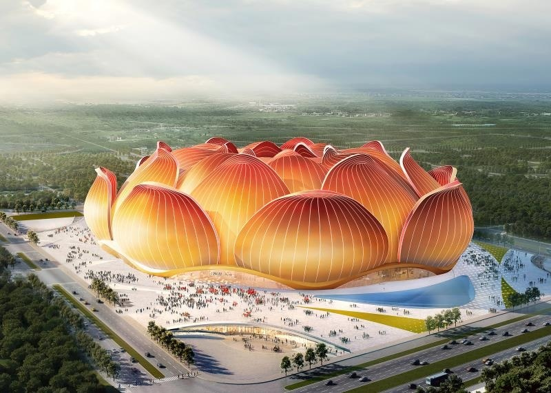In Images] China: Guangzhou Evergrande stadium construction begins -  English | Hospitality ON