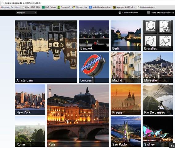Inspiration une valorisation des destinations via for Plateforme reservation hotel