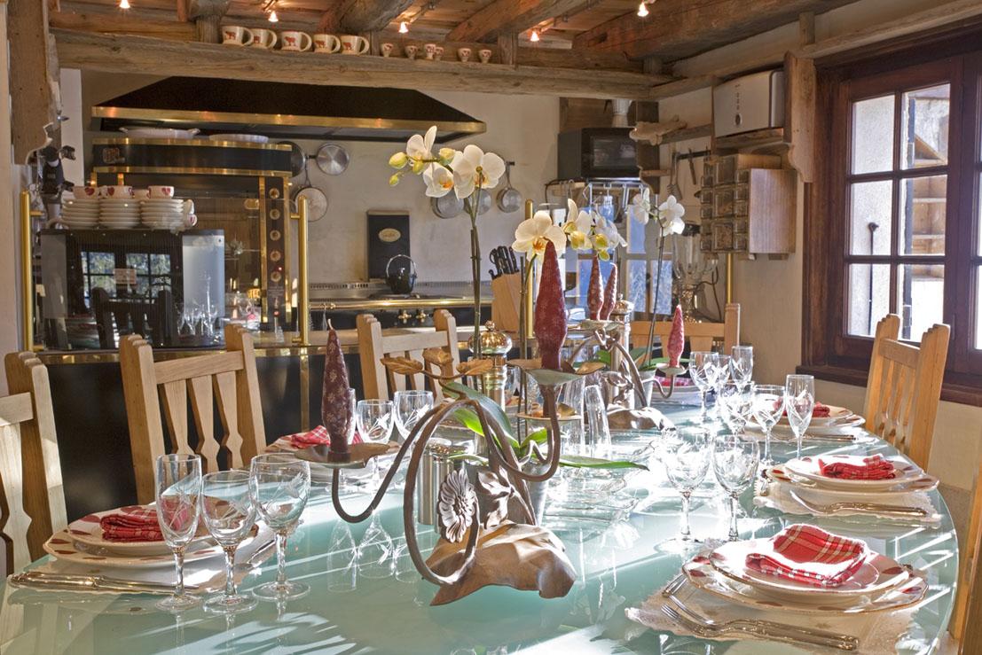 Chef toil partenariat h tel restaurant les chalets de for Les chalets de philippe chamonix