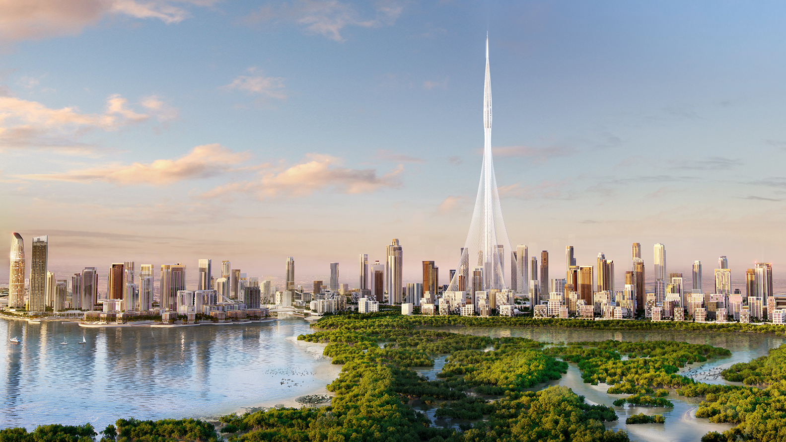 Dubai Creek Tower
