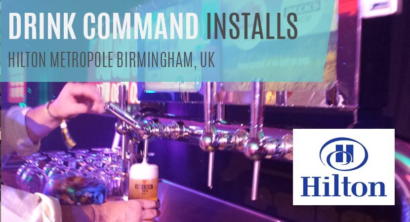 Hilton Metropole Birmingham - Drink Command