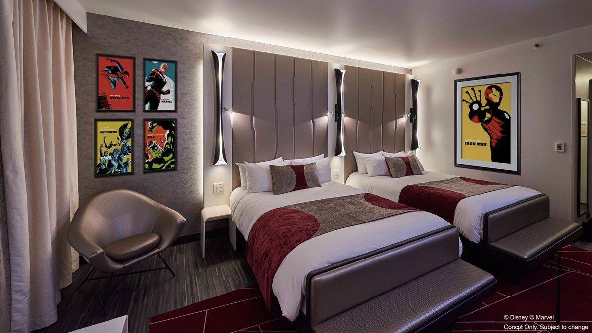 Disney's Hotel New York – The Art of Marvel à Disneyland Paris.