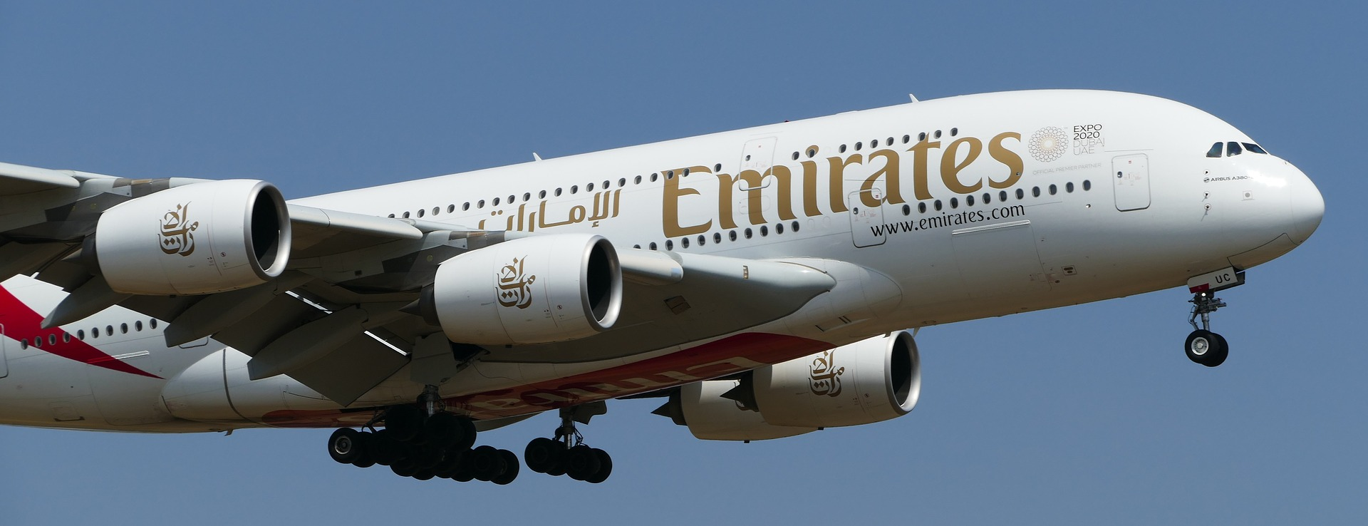 avion de fly emirates
