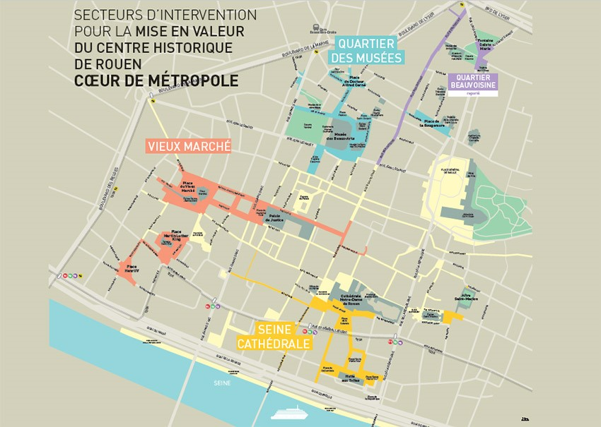 zones d'interventions en re nouvellement urbain