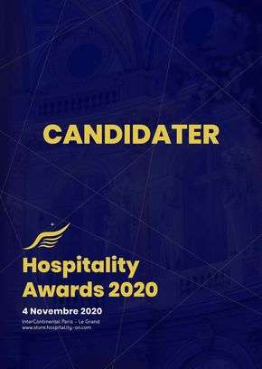 Hospitality Awards : Candidature