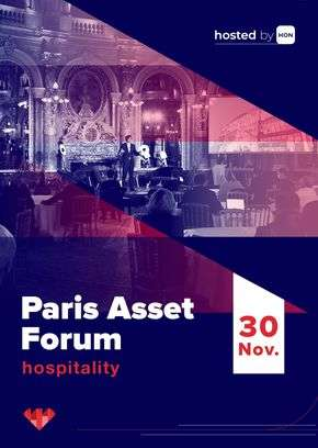 Paris Asset Forum - Hospitality: Attend the event