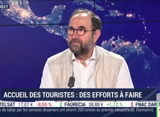 Georges Panayotis - BFM Business - Accueil des touristes: des efforts à faire