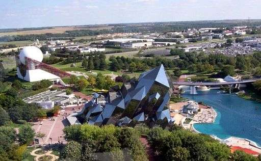 The Futuroscope park