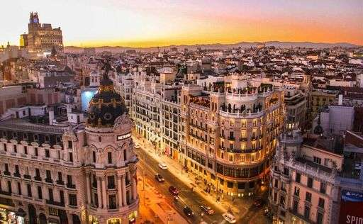 Panorama sur Madrid