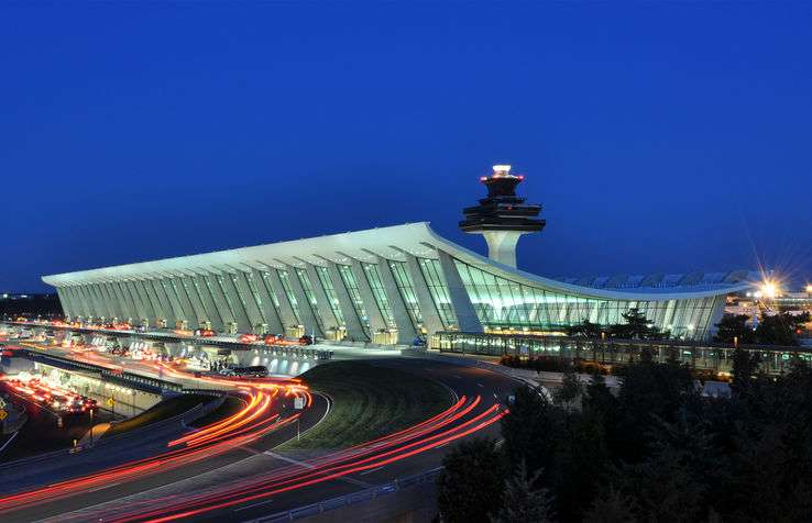 Washington Dulles Airport in the United States
