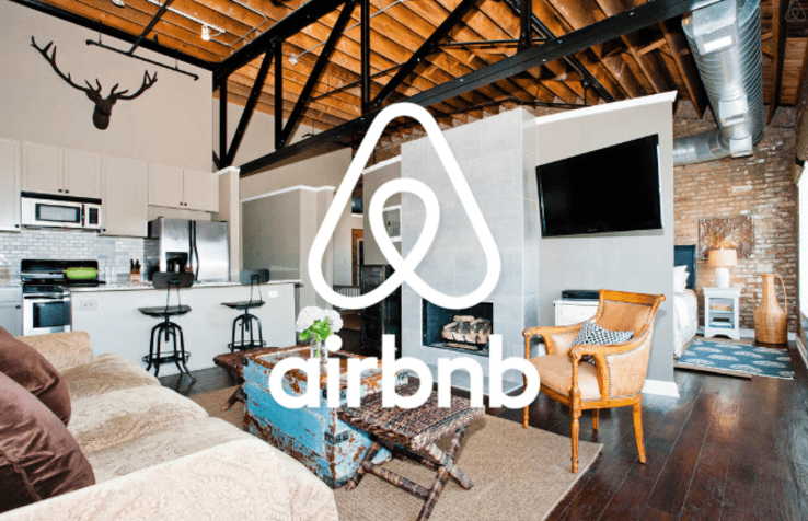 un exemple d'appartement par Airbnb