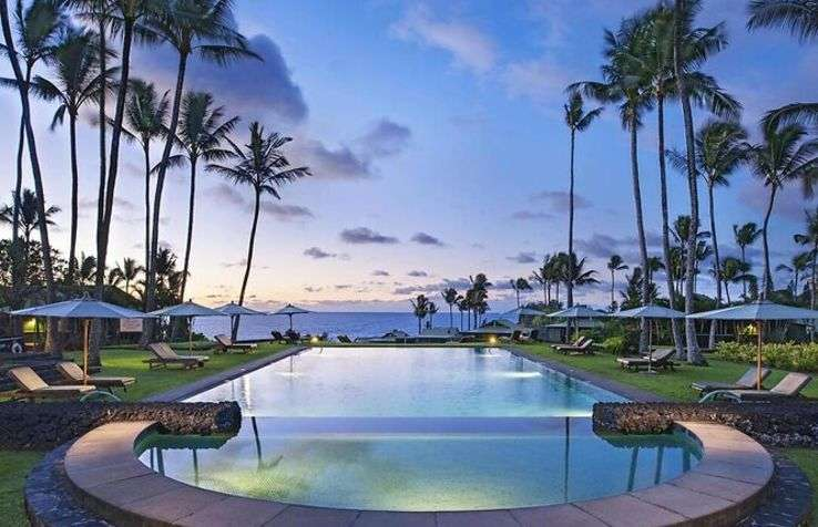 Piscine de l'Hāna-Maui Resort