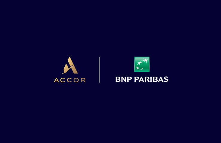 Logo ACCOR & BNP PARIBAS
