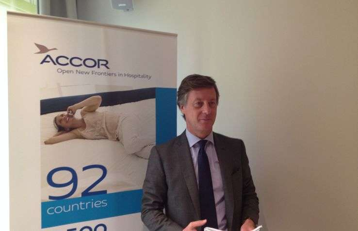 Sébastien Bazin P-dg Accor