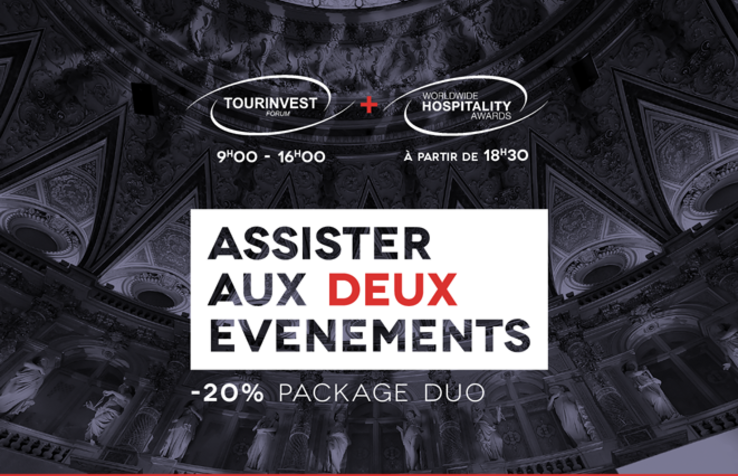 TourInvest Forum & Worlwide Hospitality Awards - Wednesday, Nov. 8, 2017 - Paris