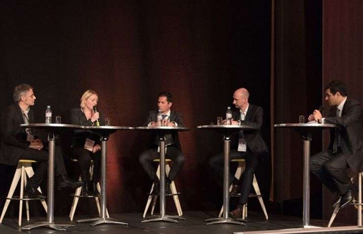 N. Asterdal, Director European RM & Distribution, Choice Hotels; A. Quesne, RM & Distribution Manager Best Western; B. Houssiaux Director, RM Managed Hotels Europe Wyndham; E. Queugnet, VP Call Center, RM Pricing & Distribution, Groupe Barrière
