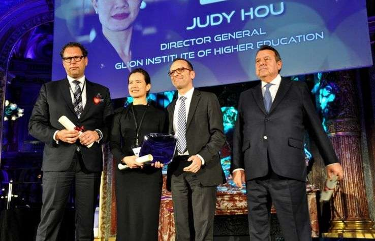 Marco ten Hoor, Hotelschool The Hague, Judy Hou, Glion, Erwan Robert, Louvre Hotels Group, et  Alain Sebban, Vatel