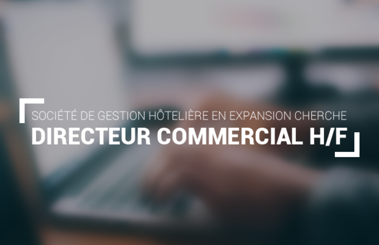 Directeur Commercial H/F – Paris, France