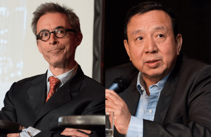David Baverez (Business Angel & editorialist) et Zhang Shangzhi (Advisory Board Member, China Lodging Group)