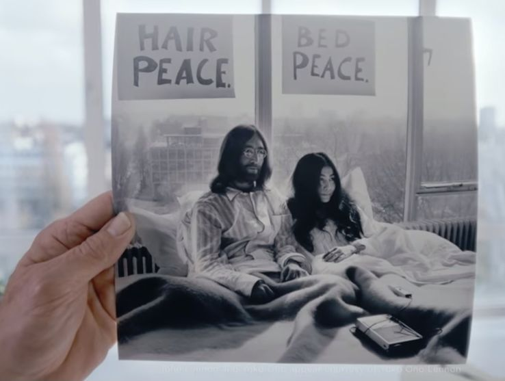 Hilton celebrates Bed-In-for-Peace in Hilton Amsterdam's Room 702 with storytelling video series