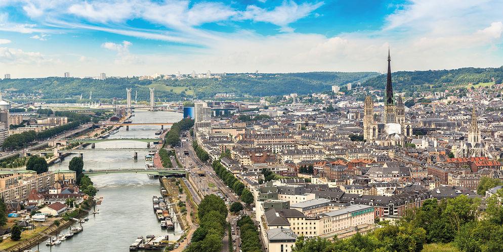 Rouen l autre ville sur la seine hospitality on for Piscine a rouen