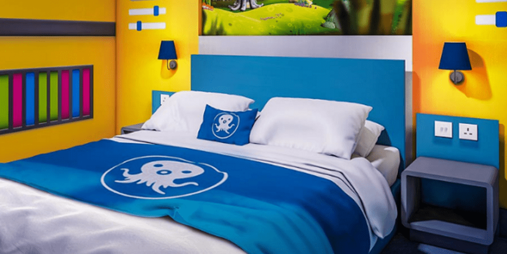 Cbeebies Land Hotel, Octonauts room - Alton Towers Resort