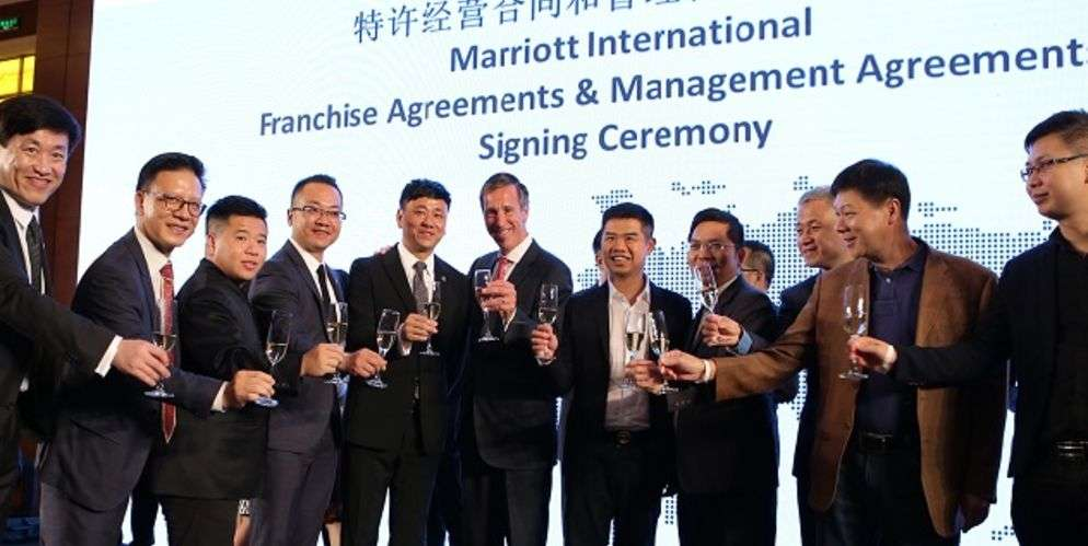 marriott international renforce ses liens avec Eastern crown
