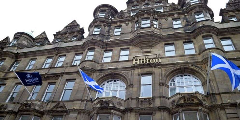 edinburgh carlton hotel reopens under the hilton banner hospitality on. Black Bedroom Furniture Sets. Home Design Ideas