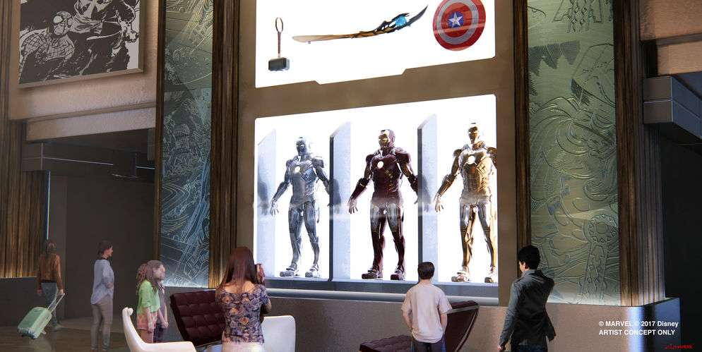 Futur Disney's Hotel New York – The Art of Marvel, Disneyland Paris