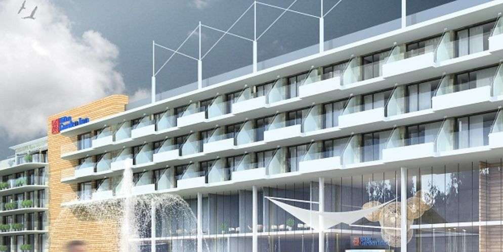 Littoral polonais construction du premier h tel de cha ne for Hotel de chaine