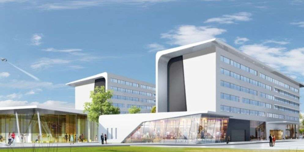 Perspective Hotel Roissy en France - Leon Grosse Immobilier