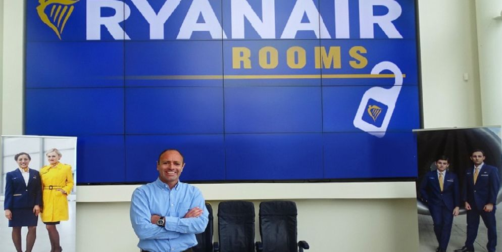 Kenny Jacobs- directeur marketing ryanair