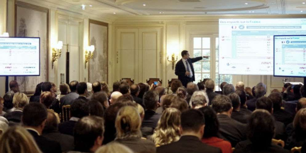 Vanguelis Panayotis au TourInvest Forum 2016 organisé à l'InterContinental Paris Le Grand