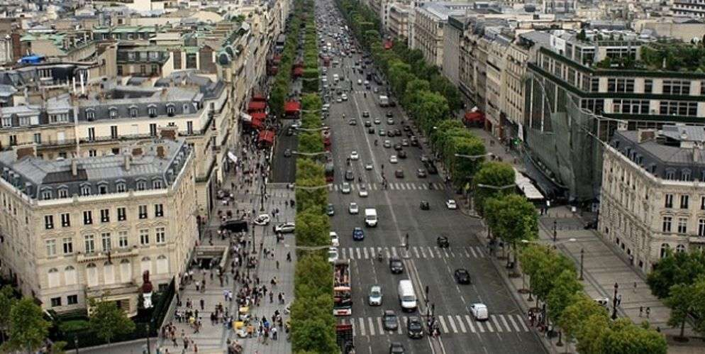 avenue des champs elysees, paris