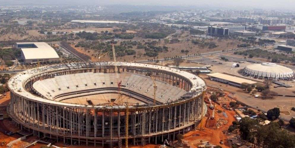 New stadium in Brasilia